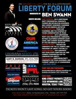 Ben Swann, Houston, TX. Liberty Forum