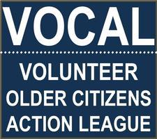 VOCAL (Volunteer Older Citizen's Action League) logo