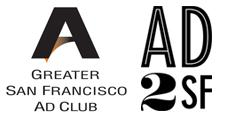 Greater SF Ad Club & AD2SF logo