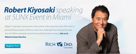 Robert Kiyosaki Teaches Wealth