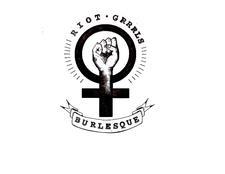 Riot Grrrls Burlesque Revue  logo
