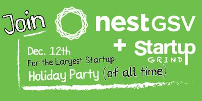 NestGSV + Startup Grind Holiday Party