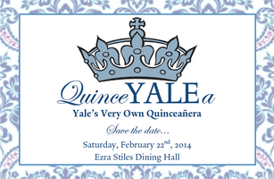 QuinceYALEa: Yale's Very Own Quinceañera