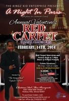 "The KingZ Kid Presents ""A Night In Paris"" Valentines Red Carpet..."