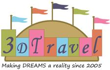 3D Travel Company logo