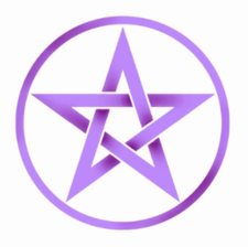 The Purple Pentacle Special Events logo