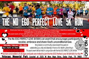 No EGO PERFECT LOVE 5K RUN