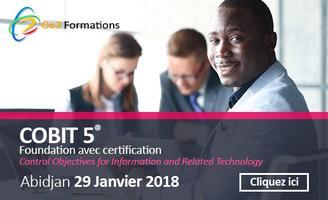 COBIT 5 Foundation avec certification - Abidjan