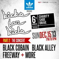 6th Annual Kicks for Kids Charity Shoe Drive & Concert