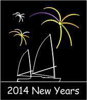 NYE Fireworks Sail Aboard the Derek M. Baylis 2014