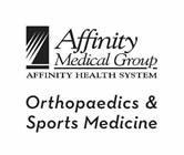 Affinity Medical Group Orthopaedics & Sports Medicine...