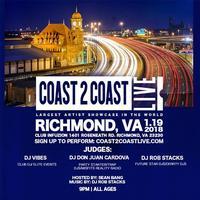 Coast 2 Coast LIVE Artist Showcase | Richmond All Ages...