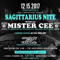 Fri. 12/15: DJ Mister Cee invades Sagittarius Nite at...