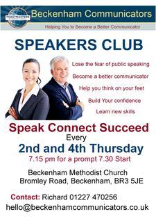 Beckenham Communicators Toastmasters Club logo