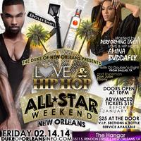 ALL STAR WEEKEND 2014  AMINA BUDDAFLY PERFORMING LIVE