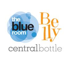 The Blue Room + Belly Wine Bar logo