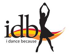 I DANCE BECAUSE logo