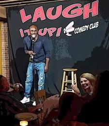 Laugh it up! Comedy Club logo