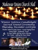 Winter Solstice Sacred Sound & Cacao Ceremony