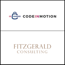 Code in Motion & Fitzgerald Consulting logo
