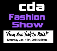 "CDA Fashion Show ""From New York To Paris!"""