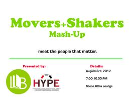 Movers and Shakers Mash-Up