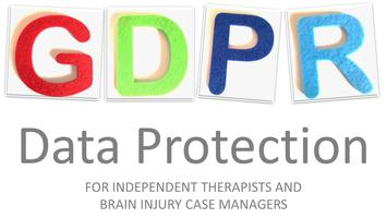 GDPR Data Protection Webinar for Therapists and Brain I...