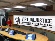 Virtual Justice Project - NCCU School of Law logo