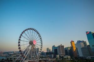 香港摩天輪 Hong Kong Observation Wheel  (2018年1月 January 2018)