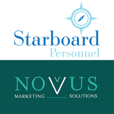 Novus Marketing Solution and Starboard Personnel logo