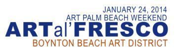 ART al' FRESCO, Boynton Beach Arts District