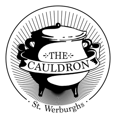 The Cauldron Restaurant logo