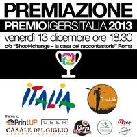 Premiazione PREMIO IGERSITALIA 2013 // #igersparty13