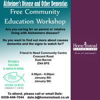 Free Community Education Workshop - Alzheimer's and other...