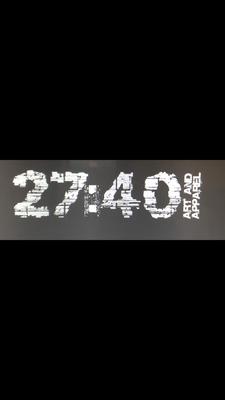 27:40 Art and Apparel logo