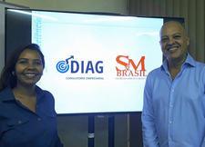 Diag Consultoria & SM do Brasil. logo
