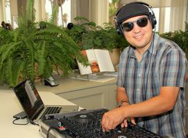 KCRW DJ Raul Campos