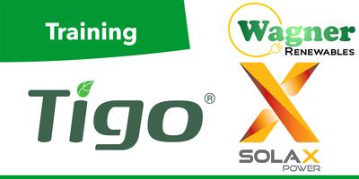 Tigo Panel Optimisation, and SolaX Hybrid Inverters.