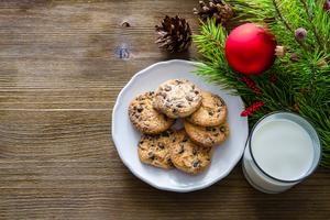 Lil Chefs: Cookies for Santa (and me!)
