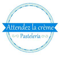 Attendez la crème | Pastelería online logo