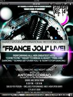 "LIVE PERFORMANCE!  ""FRANCE JOLI DISCO NIGHT!"" - (INCLUDES OPEN..."