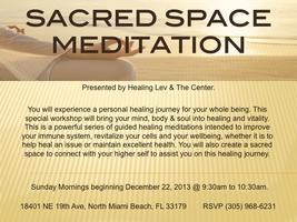 SACRED SPACE MEDITATION WORKSHOP