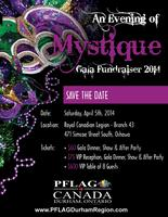 PFLAG Canada Durham Region's An Evening of Mystique
