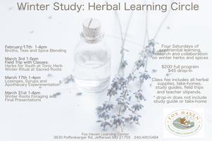 Field Trip - Tonic Herb Shop / Winter Study: Herbal...