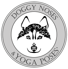 Doggy Noses & Yoga Poses (sponsored by MoJo's Morsels) logo