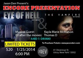 ENCORE Presentation EYE OF HELL + The Vampire