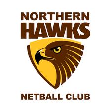 Heritage Isle Northern Hawks Netball Club logo