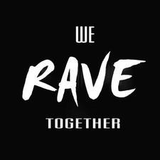 We rave together logo