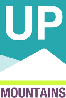 Up Mountains logo