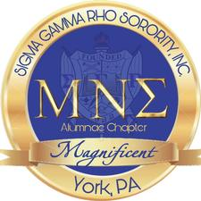 Sigma Gamma Rho Sorority, Inc - Mu Nu Sigma Alumnae Chapter logo